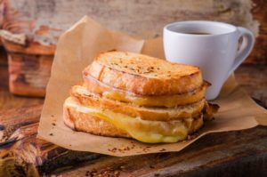 Toast au fromage